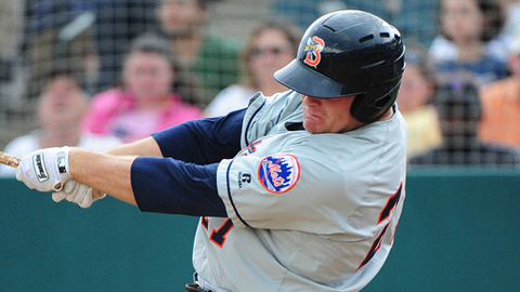 Lucas Duda hit 27 homers between the Minors and the Majors in 2010.