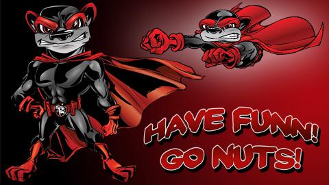 Flying Squirrels Baseball Logo Squirrels Unveil Comic-themed
