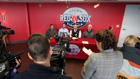 Formal plans for the event were unveiled at a press conference by officials from the City of Salem, American Softball Association and the Salem Red Sox on Monday morning.