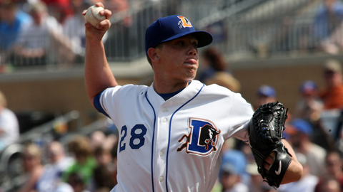 Jeremy Hellickson led all Triple-A starters with a 2.45 ERA this year.