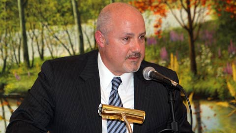 Mike Rizzo was the Keynote Speaker at the 2010 Hot Stove Banquet.
