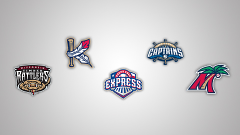 Several Minor League clubs went to Studio Simon for their new logo designs this offseason.