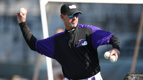 Pitching Coach Bobby Thigpen will return for his 3rd season.