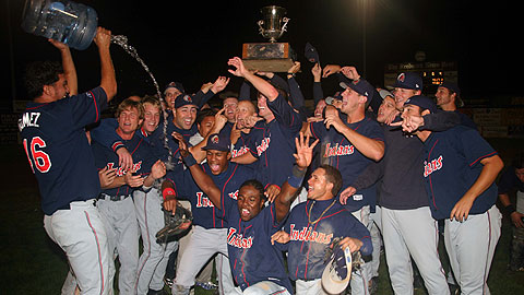 The K-Tribe thrilled their faithful by winning the Carolina League title in 2006.