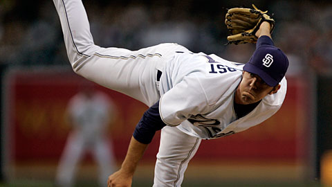 Dirk Hayhurst made his big league debut with the Padres at the age of 27.