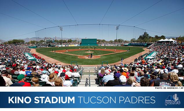 Kino Stadium Tucson Padres Marketing