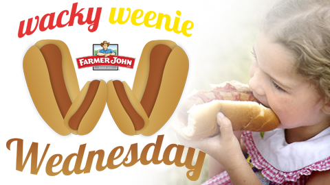 FREE HOT DOGS FOR ALL ON WEDNESDAYS!