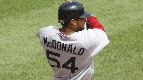 "Darnell McDonald was dubbed ""The Microwave"" by teammate Dustin Pedroia."
