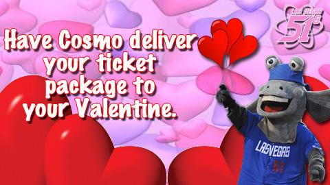 Happy Valentine's Day Ticket Package Now Through Feb. 14! | Las Vegas 51s News
