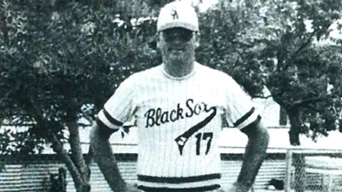 Dick O'Neal was the only white player in the 35-year history of the San Antonio Black Sox.