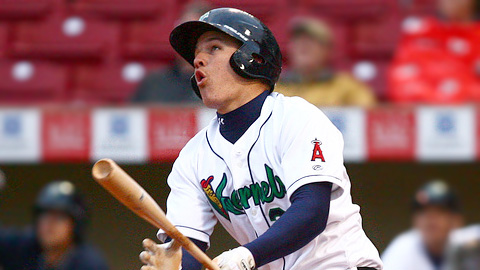 Mike Trout was the Midwest League Prospect of the Year.