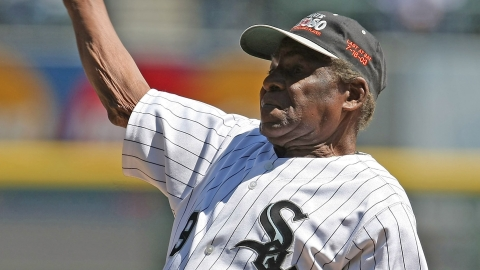Minnie Minoso had his No. 9 retired by the White Sox in 1983.