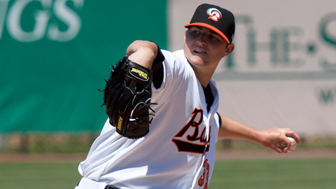 Zach Britton had a 2.70 ERA between Double-A and Triple-A last year.