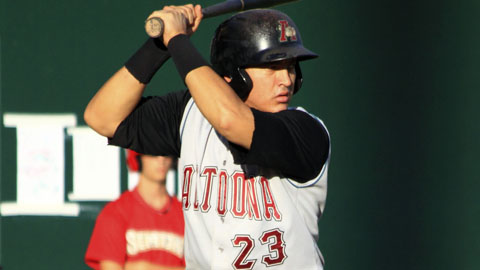 Hector Gimenez slugged 16 homers in 94 games for Altoona in 2010.