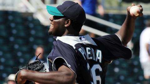 Michael Pineda averaged 9.95 strikeouts per nine innings last season.