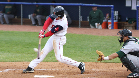 Centerfielder Peter Hissey returns to Salem after leading the team in stolen bases a year ago.