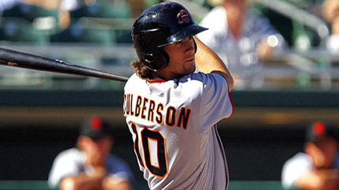 Second baseman Charlie Culberson hit .366 in the Arizona Fall League.