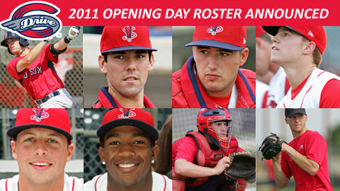 Four of Red Sox' top five draft picks highlight 2011 roster.