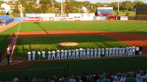 Opening Night Ceremonies in Dunedin