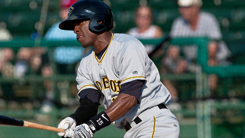 Starling Marte hit .315 with 22 steals at Class A Advanced last year.