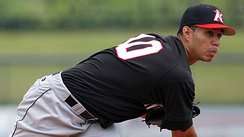 Cameron Bayne went 12-9 for Kannapolis in 2010.