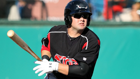 Jaff Decker had 17 homers and five steals in 79 games last year.