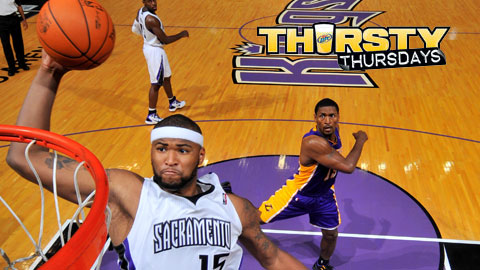 DeMarcus Cousins will throw out the first pitch Thursday night.