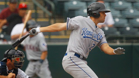 Royals prospect Eric Hosmer smacked his 27th career home run.