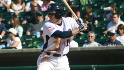 Jim Adduci went 2-for-4 with 2RBI in the Smokies loss Sunday afternoon.