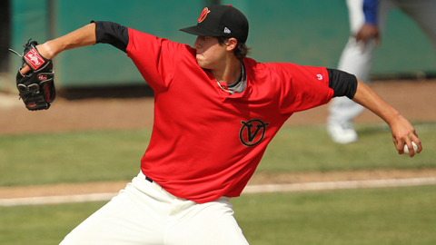 Tyler Skaggs ranks second in the Cal League with 21 strikeouts.