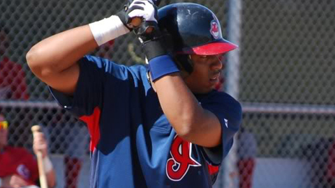 Jesus Aguilar recorded a pair of two-homer games in the Arizona League last season.