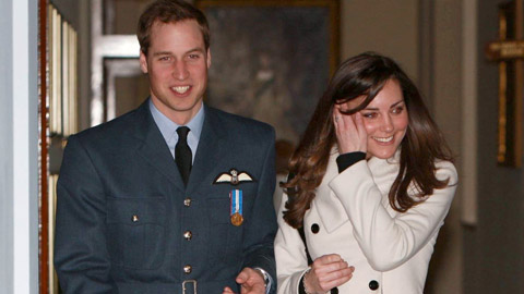 Minor League teams celebrate Prince William and Kate Middleton's nuptials.