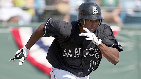 Francisco Peguero hopes to return from extended spring training.