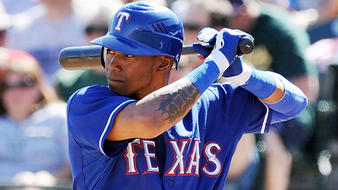 Engel Beltre was acquired by the Rangers from the Red Sox in July 2007.
