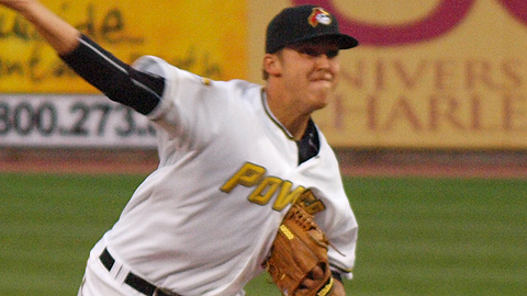 Jameson Taillon will make his second start as a pro on Monday against Greensboro.