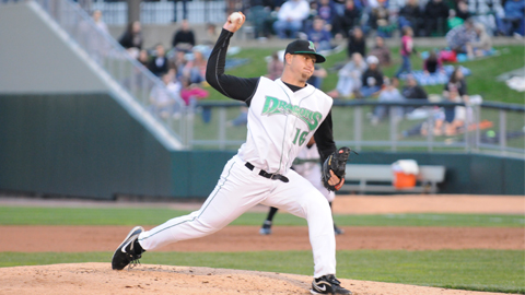 Josh Smith ranks third in the Midwest League with a 0.93 ERA in five starts.