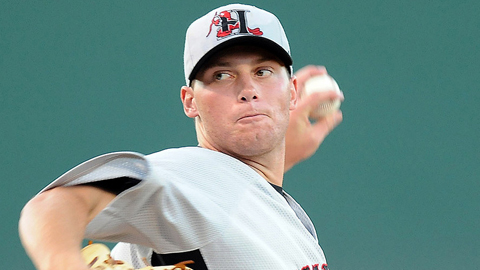 Robbie Erlin led the South Atlantic League with a 2.12 ERA last season.
