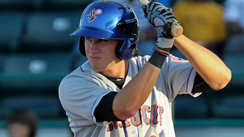 Matt Den Dekker's 13 doubles lead the Florida State League.