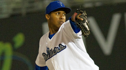 Juan Nicasio has 40 strikeouts in 28 2/3 Double-A innings.