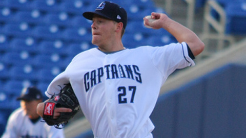 Mike Rayl struck out a career-high 11 after making changes to his delivery.