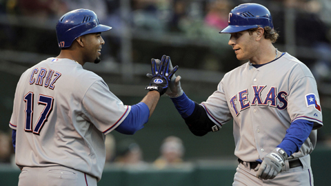Nelson Cruz and Josh Hamilton could rejoin the Rangers as soon as Monday.