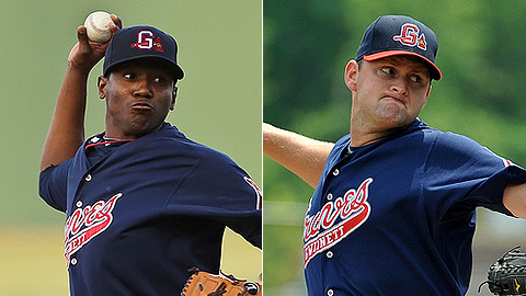 Julio Teheran and Todd Redmond combined to allow one run in 12 innings.