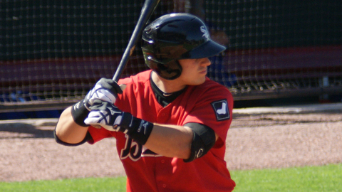 Josh Phegley bested his previous career high in RBIs by three.