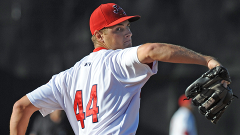 Kevin Siegrist's eight wins are tied for the most in pro ball.