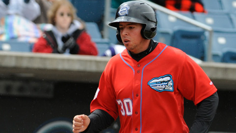 Chris Marrero hit his team-high 7th home run on Monday night.