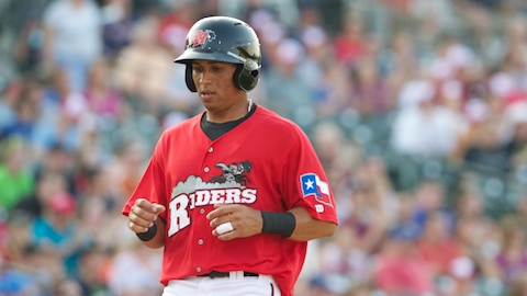With four RBIs Monday, Leonys Martin has 18 in 22 games this year.