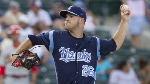 Dallas Keuchel ranks fifth in the Texas League with a 3.16 ERA.