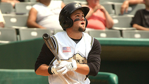 Jaff Decker walked twice and scored a pair of runs on Sunday.