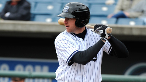 Corey Brown homered twice and reached base four times on Sunday afternoon.