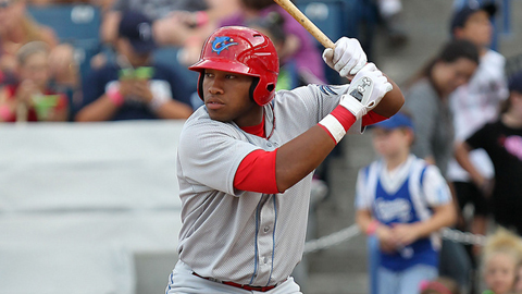 Jonathan Singleton recorded his third three-hit game of the season.